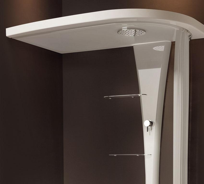 Vasca Easylife con sistema doccia
