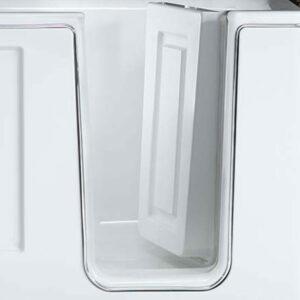 Porta e guarnizioni della vasca con sportello ad apertura interna 90°