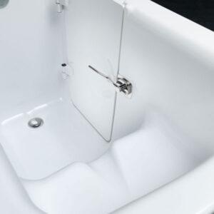 vasca con sportello artigianale