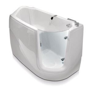 vasca con sportello frontale Zaffiro