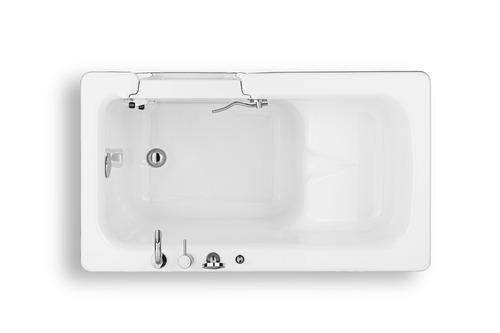 Vasca con sportello o box doccia